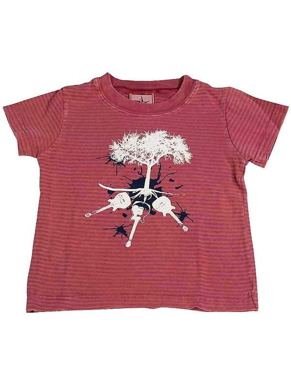 Silver Pony - Baby Boys Short Sleeve Striped Tee