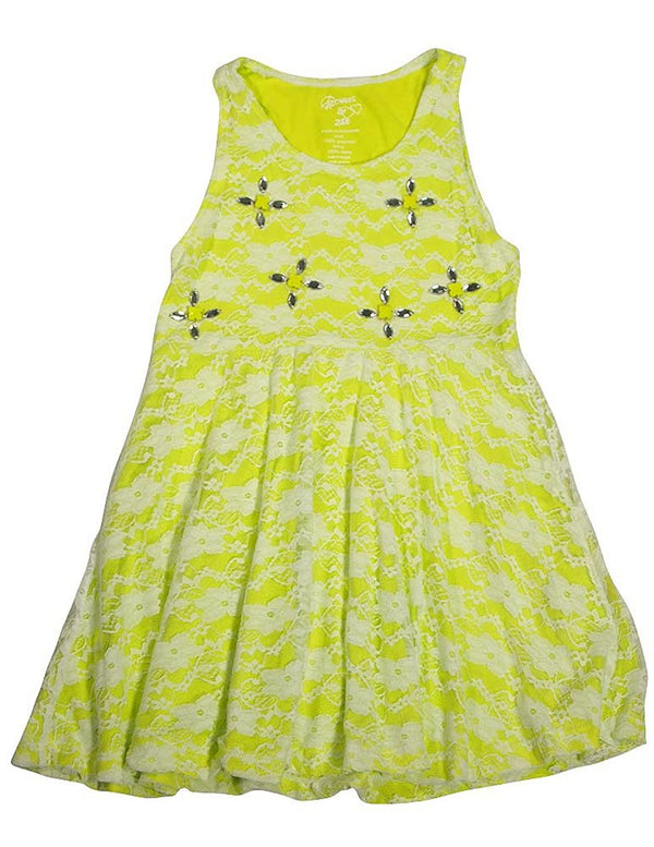 Flowers by Zoe - Little Girls Sleeveless Dress - 18 Styles and Colors Available