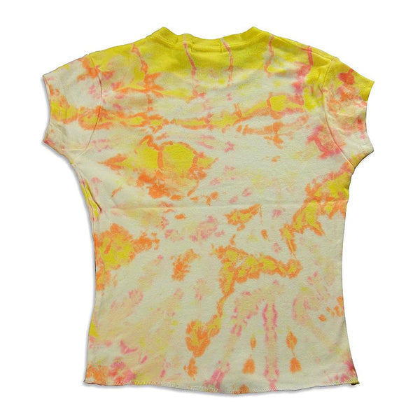 So Nikki - Big Girls' Cap Sleeve Tie Dyed T-Shirt