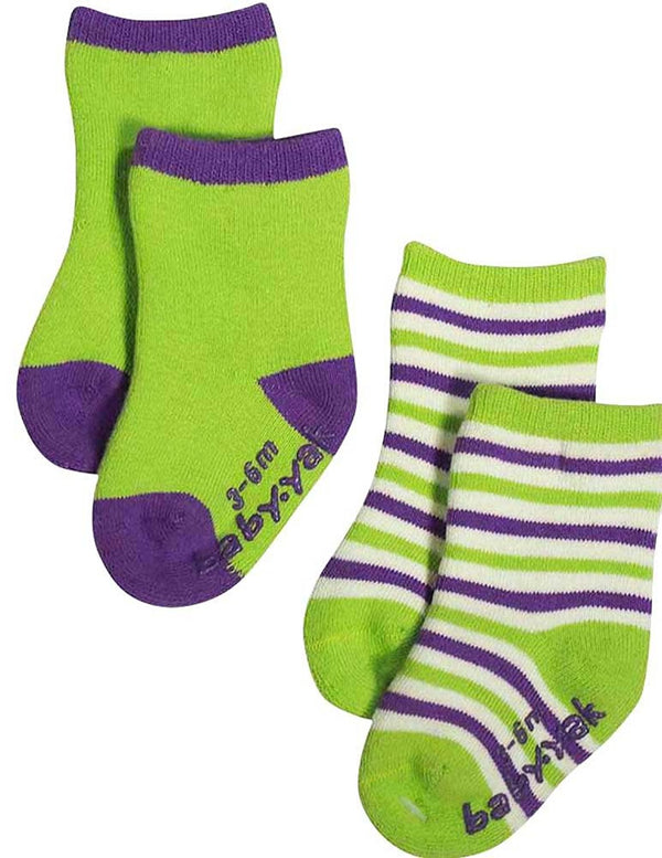 Mak the Yak - Little Boys' Bootie Sock (Pack of 2)