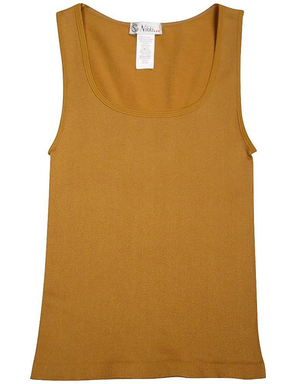 SO NIKKI Girls Stretchy Tank