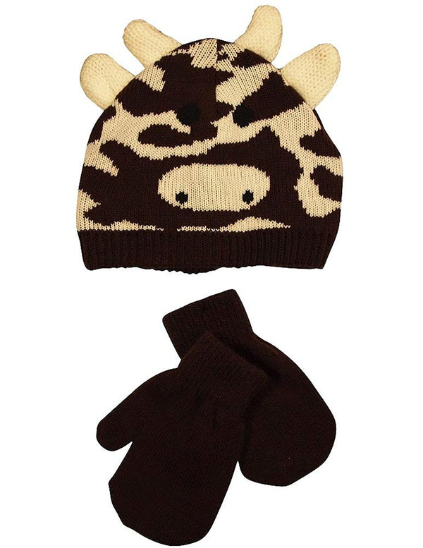 Winter Warm-Up - Baby Boys Hat and Mitten Set
