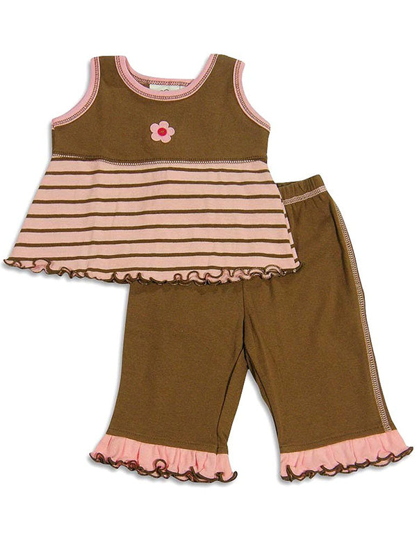 Cloud Mine - Baby Girls Pant Set
