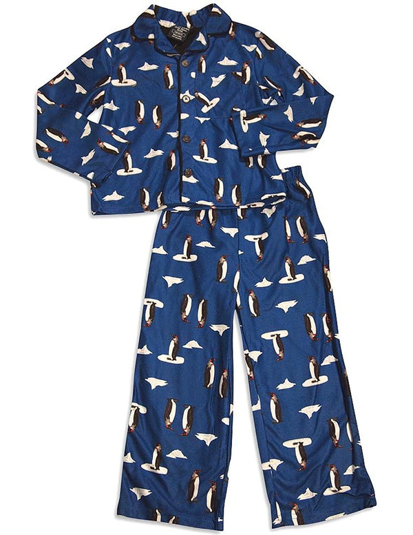 Private Label - Little Boys Long Sleeve Pajamas