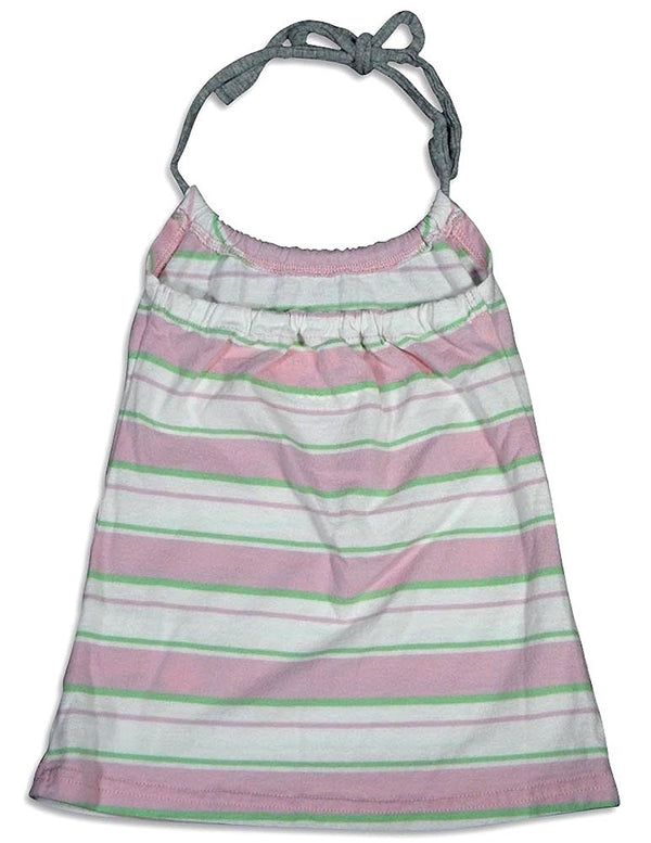 Dinky Souvenir - Baby Girls Stripe Halter Top