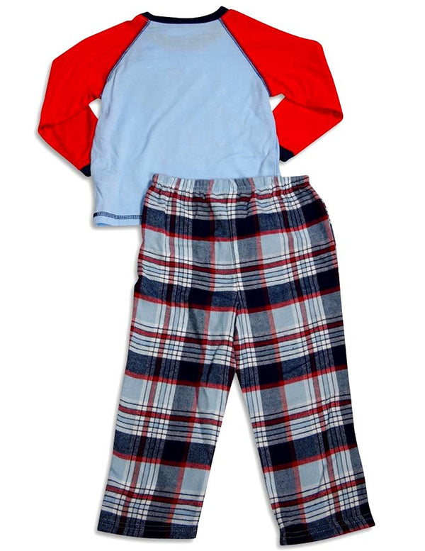 Little Me Boys Long Sleeve Pajamas