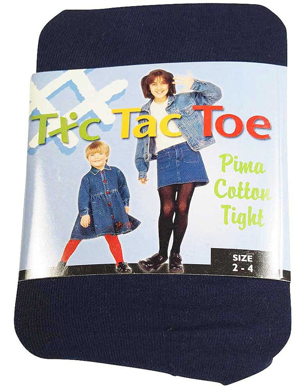 Tic Tac Toe - Little Girls Cotton Tight