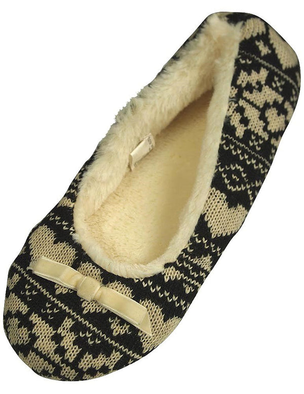 Private Label - Ladies Knit Slipper