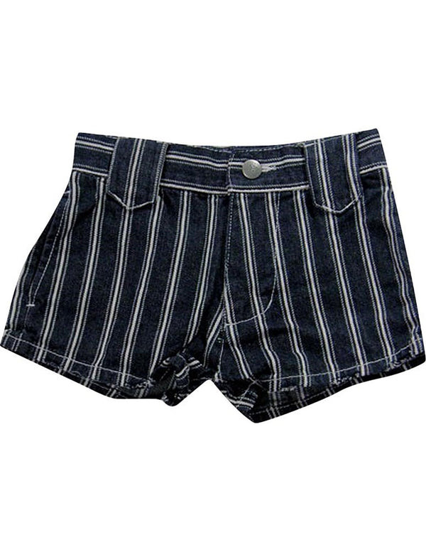 Dinky Souvenir by Gold Rush Outfitters - Little Girls Striped Shorts