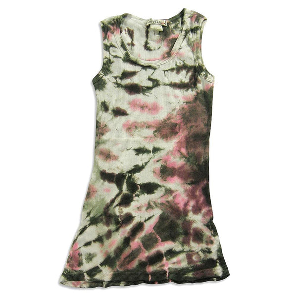 So Nikki - Big Girls' Tie Dyed Tank Tunic