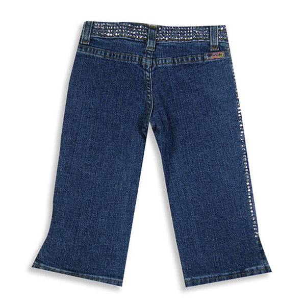 Ave Blu - Little Girls' Denim Capri