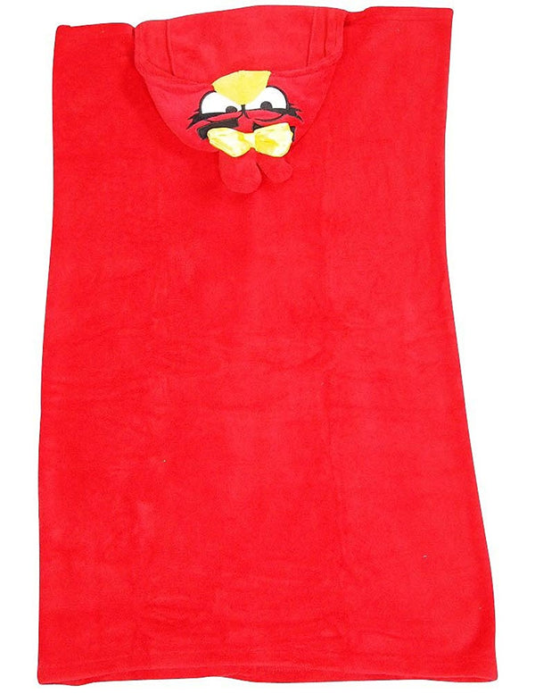 Angry Bird - Boys Hooded Angry Bird Wrappie Wrap