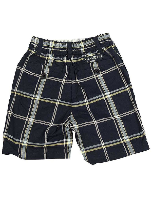 E-Land - Little Boys Plaid Shorts