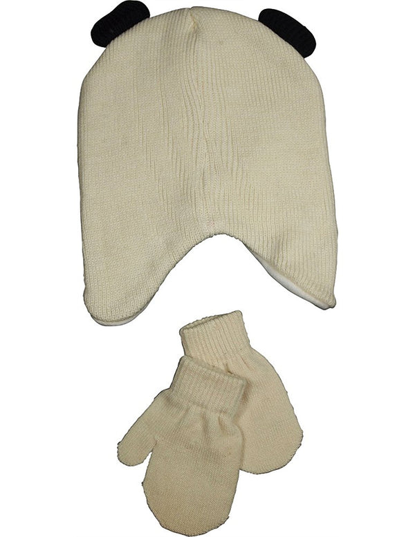 Winter Warm-Up - Baby Girls Hat and Mitten Set