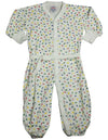 Sara's Prints - Baby Girls Long Sleeved Convertible Coverall