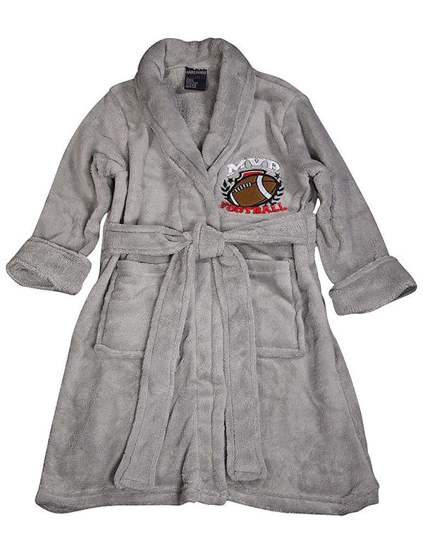 American Hero - Little Boys' Soft Plush Cozy Robe