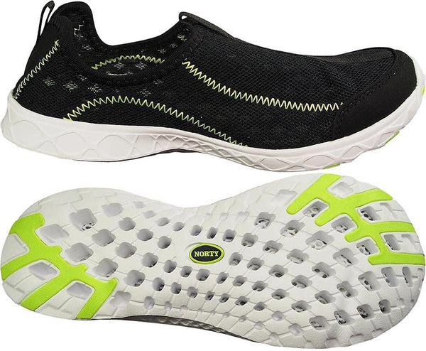Norty Slip-On Women's Water Shoes for Water Sports & Aerobics Lightweight, Comfortable