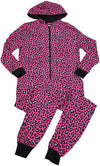 B O P J. - Ladies Cozy Hooded Micro Fleece Sleep Onesie PJ