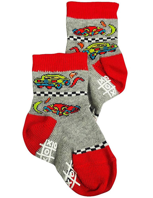 Tic Tac Toe - Baby Boys Sock