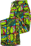 Teenage Ninja Mutant Turtles - Mens Turtles Microfleece Sleep Lounge Pant