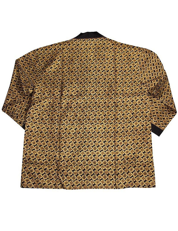 Personal Choice - Mens Long Sleeve Silk Lounge Top