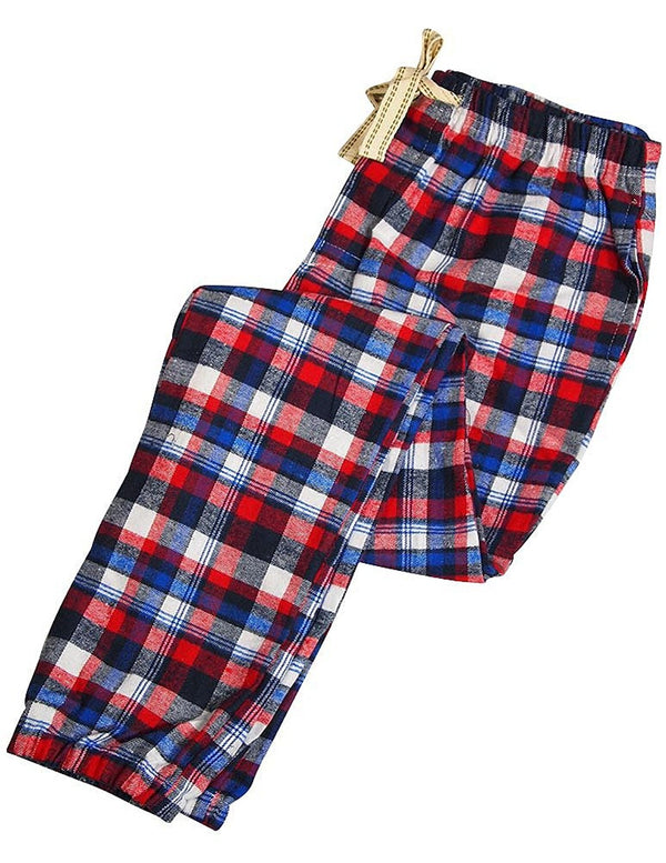 Bottoms Out - Mens Flannel Plaid Lounge Pant