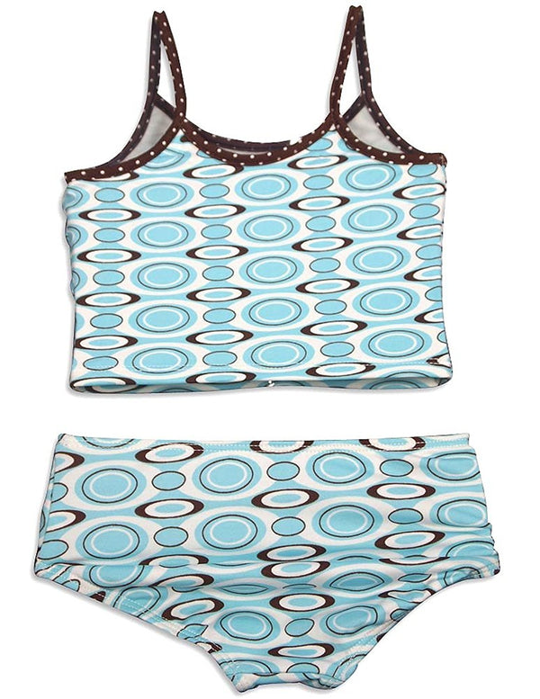 405 South by Anita G - Little Girls' 2 Piece Tankini Swimsuit