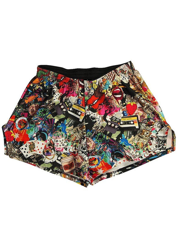 Zara Terez - Big Girls' Day of the Dead Gym Shorts