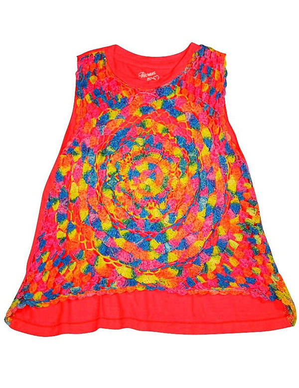 Flowers by Zoe - Little Girls' Tank Top - 6 Colors/Styles