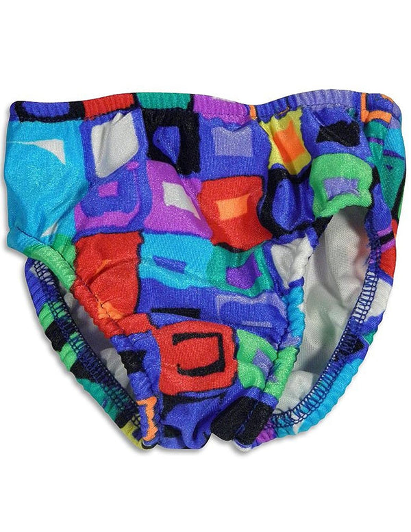 My Pool Pal - Baby Boys Blocks Reusable Swim Diaper