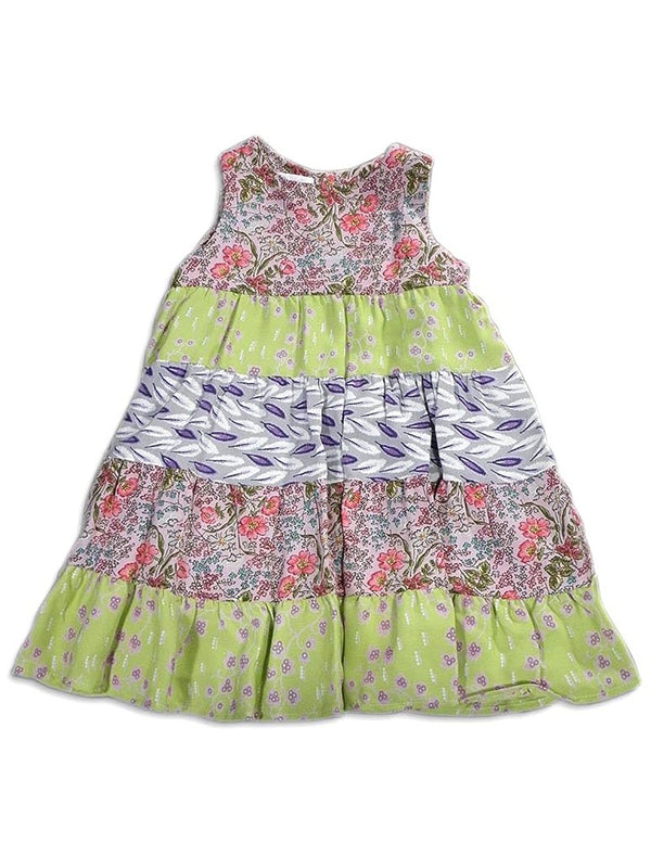 Malley Too - Little Girls Sleeveless Floral Dress