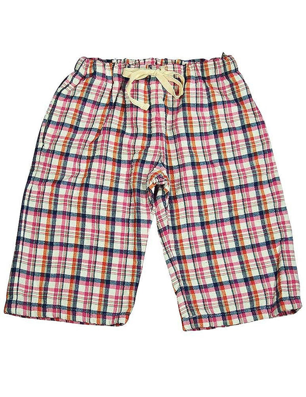 Dinky Souvenir by Gold Rush Outfitters - Little Girls Seersucker Plaid Pant