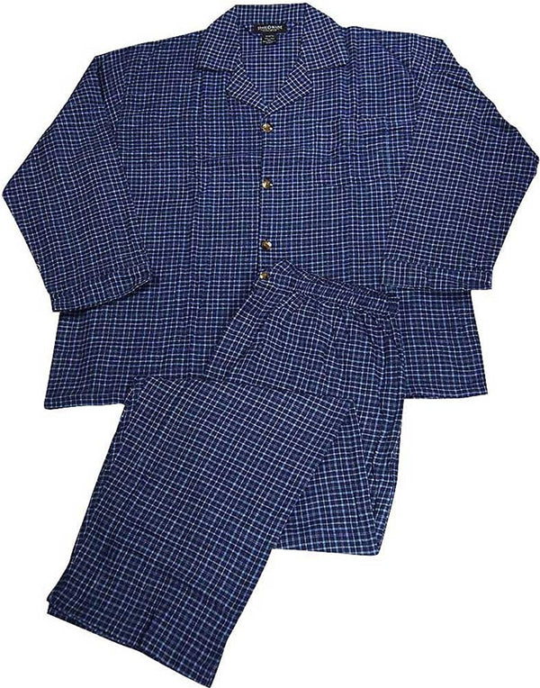 State O Maine - Big and Tall Mens Plaid Flannel Pajamas