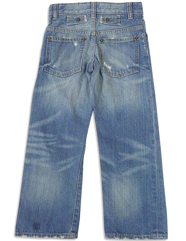 WXY - Little Boys Antiqued Jean Pant