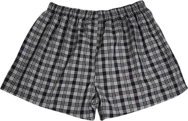 Private Label - Mens Big Plaid Broadcloth Sleep Short