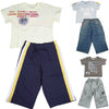 Mish Mish Baby Boys Infant Toddler Short Sleeve Cotton 2 Piece Pant Sets, 8509