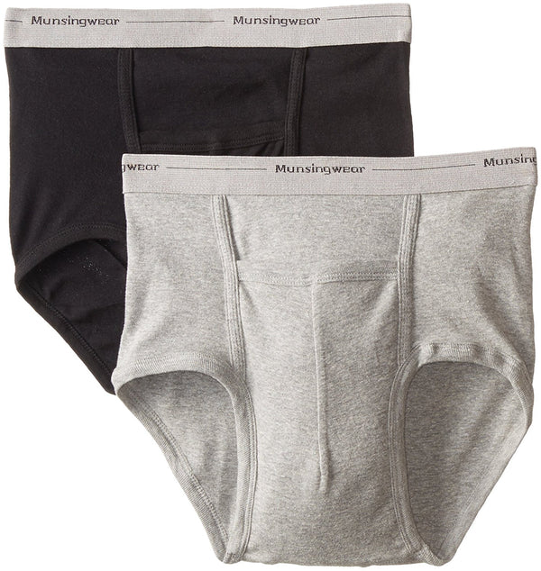 Munsingwear Men's 2-Pack Full-Rise Pouch Brief