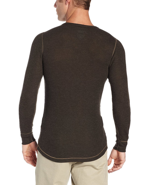 ColdPruf Men's Eco Terra Single Layer Long Sleeve Crew Neck Top