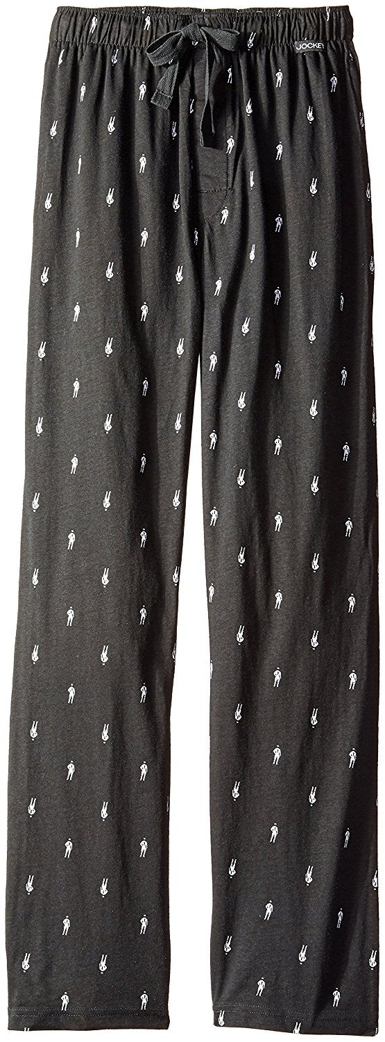Jockey Men's Boy Printed Jersey Knit Sleep Pant