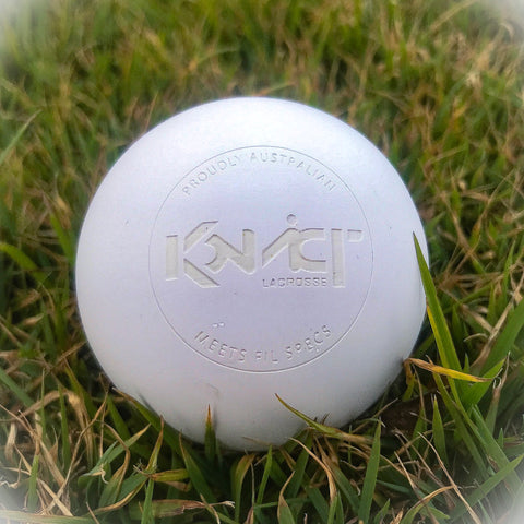 Konvict White Lacrosse Ball