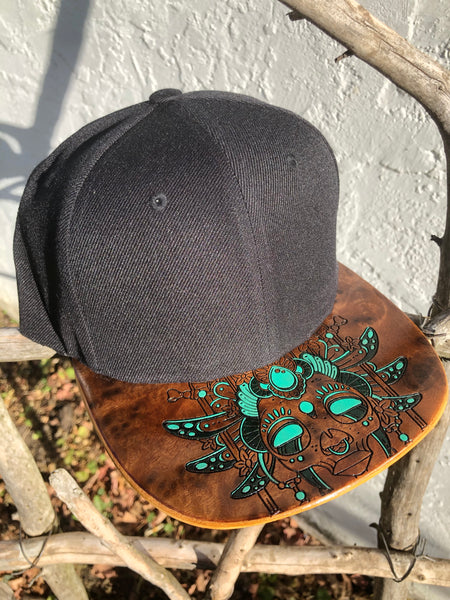 Queen Mia Hat (Hand Painted)