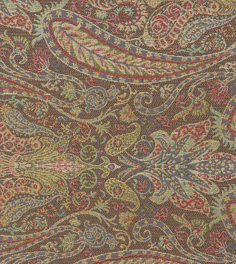 Multicolor Jacquard Upholstery Fabric