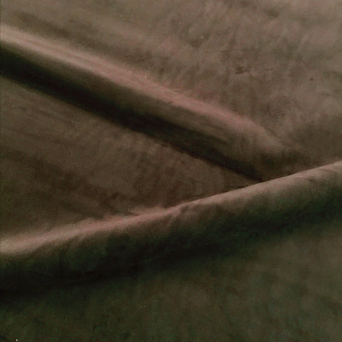 Chocolate Brown Velvet Upholstery Fabric