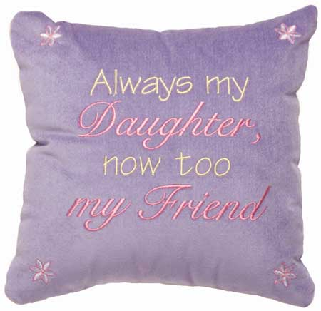 Always my Daughter, Now too my Friend