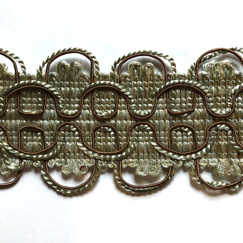Metallic High Quality Decorative Gimp Trim by the yard
