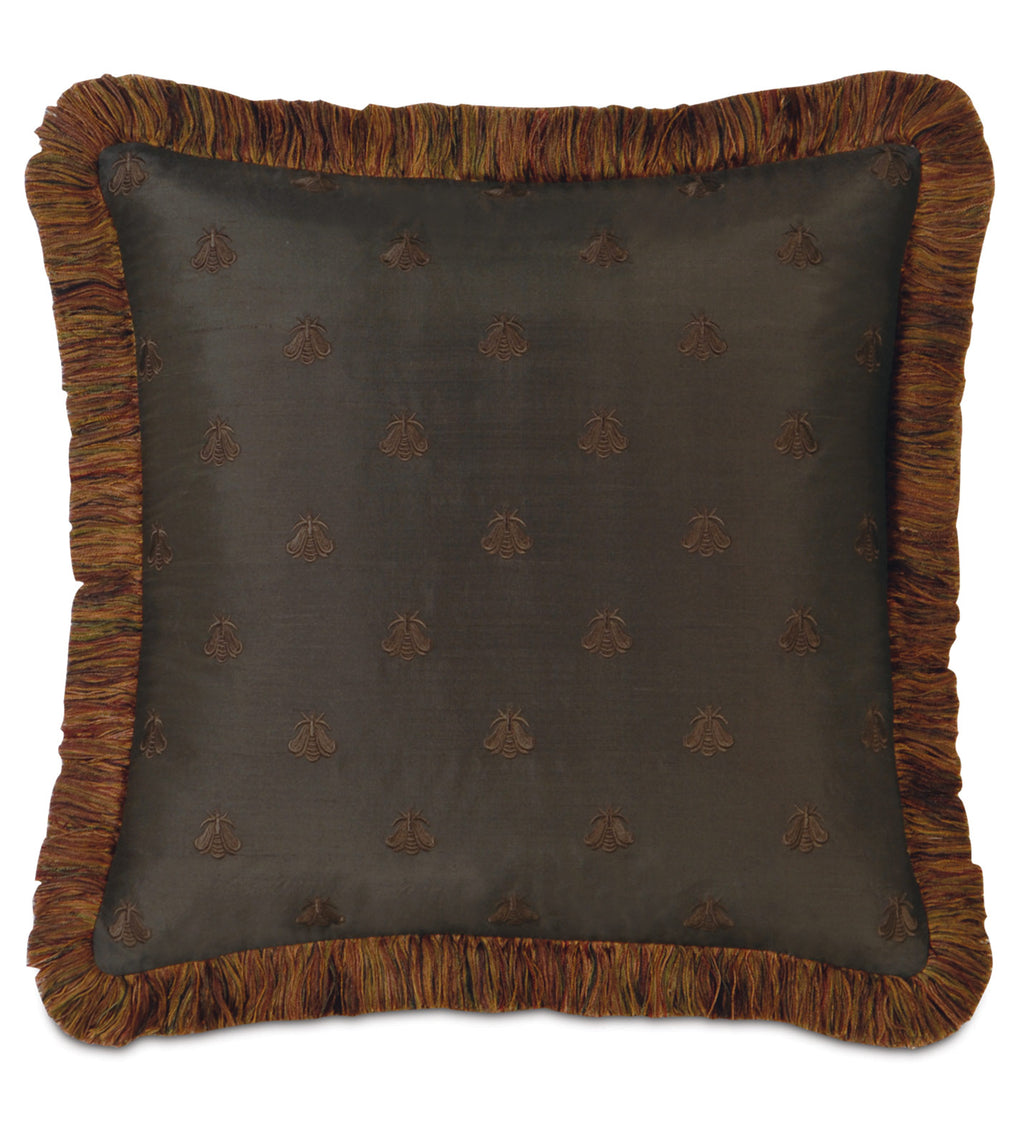 "Antoinette Queen Decorative Pillow Cover in Femme 18"" x 18"""