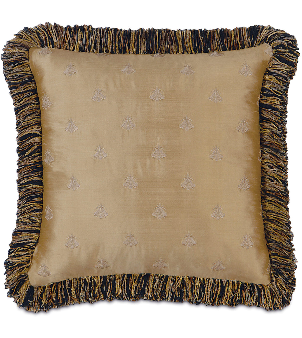"Antoinette Queen Decorative Pillow Cover in Allure 18"" x 18"""