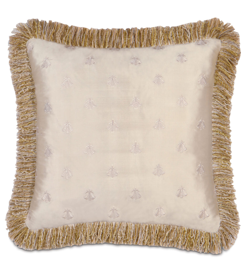"Antoinette Queen Decorative Pillow Cover in Enchant 18"" x 18"""