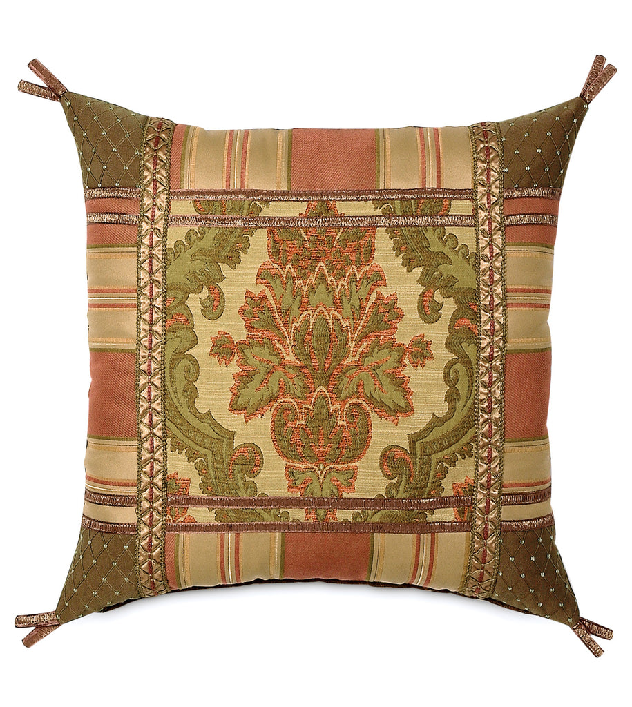 "20""x20"" Arosa Damask Collage Luxury Pillow Cover"