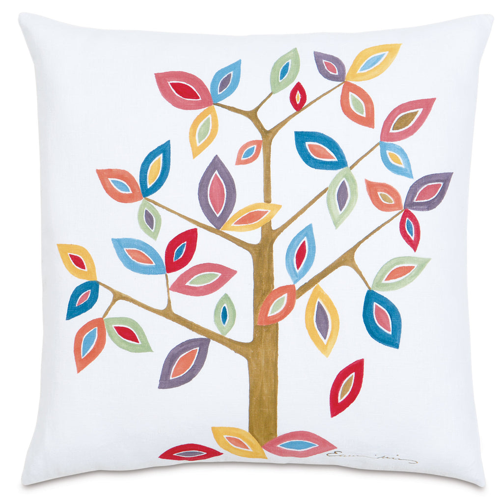 "Folkloric Decorative Pillow 22""x22"""